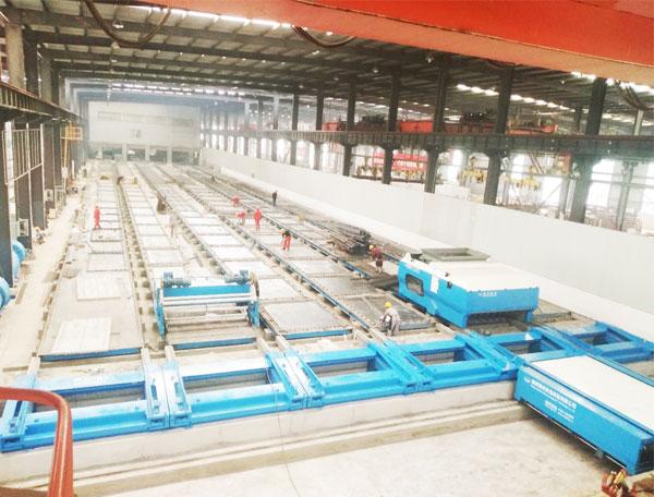中国建材(四川华构)预应力长线台生产线
