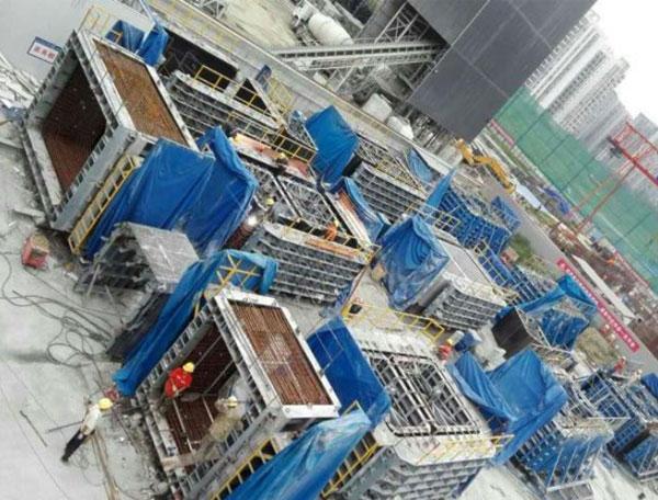 四川建工管廊生产现场