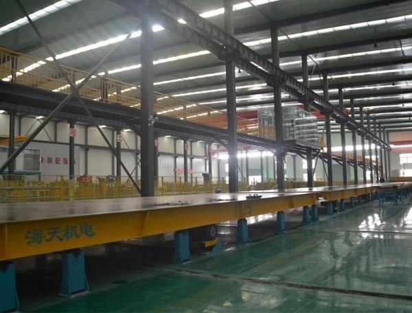 新疆大华龙PC生产线生产现场