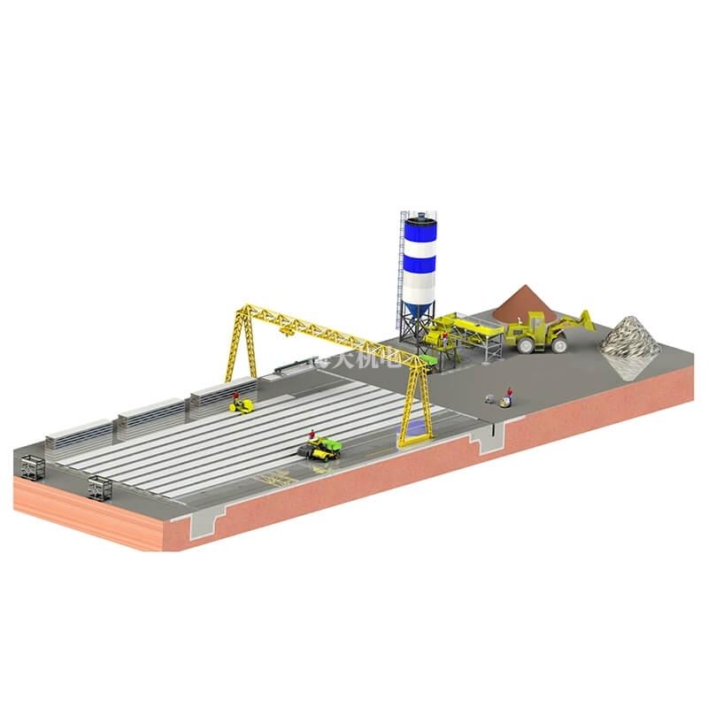 GLY混凝土预应力推挤成型生产线
