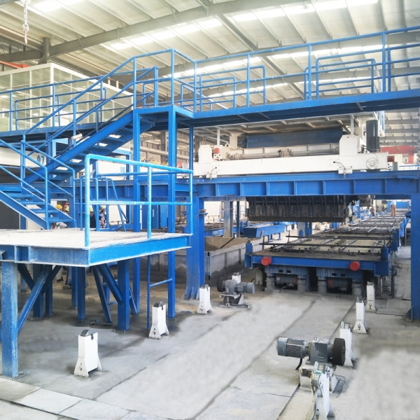 集约式高产能叠合板生产线
